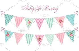 bunting clipart shabby chic pencil and in color bunting clipart
