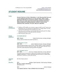 Formatting Education On Resume College Grad Resume Format Best Resume Collection