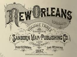 New Orleans La Map by Gimme Bar Sanborn Insurance Map Louisiana New Orleans 1885