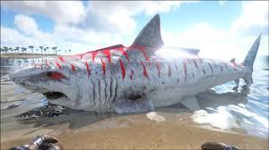 megalodon official ark survival evolved wiki