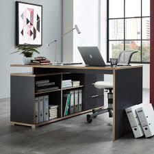 Wohnzimmer Computer Pc Tisch Mit Sideboard Anthrazit Eiche Sonoma Jetzt Bestellen