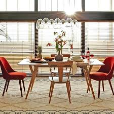 Century Dining Room Tables Mid Century Expandable Dining Table West Elm Midcentury Dining