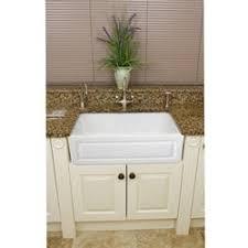 Fine Fixtures Fireclay Fluted Apron Inch White Farmhouse - Farmhouse kitchen sink