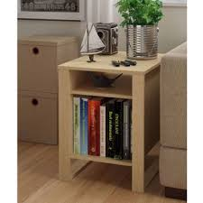 amazon com side end table living room home wood home furniture