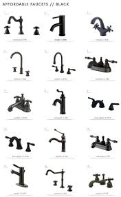 different types of oilubbed bronze bathroom faucets antique