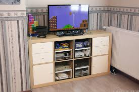 kallax ideas how to make an expedit retro gaming cabinet