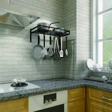 Bakers Racks For Kitchens Kitchen Amazing Wall Pot Hanger Hooks For Pots And Pans Overhead