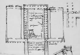 greek temple floor plan numerous 16th century drawings u201d of the temple of the sun serapis
