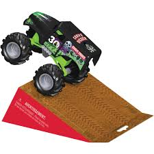 grave digger 30th anniversary monster truck toy k u0027nex monster jam special edition grave digger building set