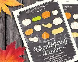 thanksgiving evite etsy