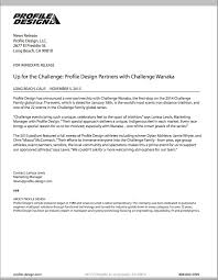 With Challenge Profile Design Company Overview