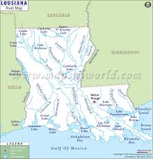 louisiana map in usa louisiana rivers map list of rivers in louisiana