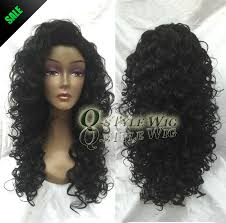 gray hair pieces for american african american wigs synthetic fiber short afro kinky curly hair