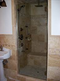 Small Shower Door Frameless Shower Door Traditional Bathroom Los Angeles By