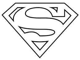 superman clipart simple pencil color superman clipart simple