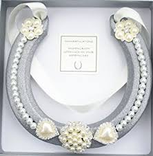 horseshoe wedding gift lucky real horseshoe bridal wedding gift guardian angle