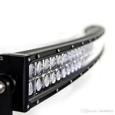 curved led light bar 40 inch 240w curved led light bar off road car atv tractor offroad