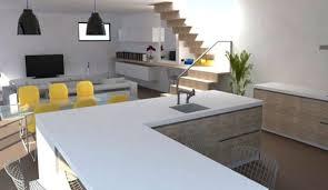 cuisine et salon dans la meme cuisine ouverte esprit loft l exemple à suivre côté maison