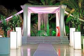 chuppah canopy wedding ceremony canopy chuppah or huppah stock image