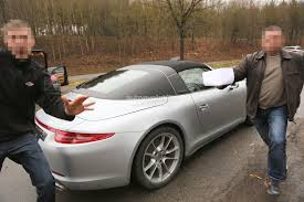 new porsche 911 targa spyshots new porsche 911 targa almost undisguised autoevolution