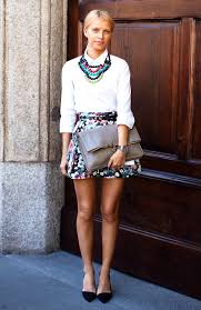 wear collar necklace images 15 ideal outfits to wear with statement necklaces all season jpg
