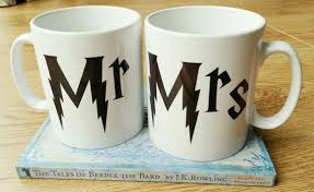 wedding gift hers uk harry potter mr and mrs gift mug set wedding gifts
