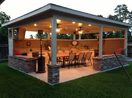 Cheap Backyard Patio Ideas Triyae Com U003d Ideas For Outdoor Patio Entertainment Various