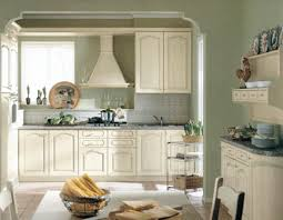 green white color schemes spacious white kitchen designs green