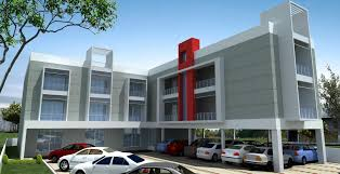 modern elevation with car parking at stilt gharexpert