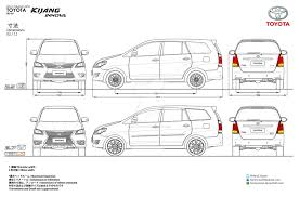 innova 2017 toyota innova body kit blueprints by hanif yayan on deviantart