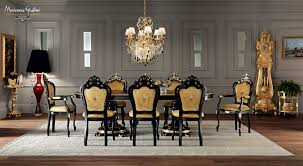 classic dining table wooden oval extending villa venezia