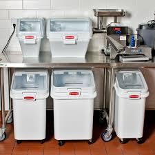 Storage Container For Flour Ideas Rubbermaid Storage Design With 3 Gallon Prosave Shelf