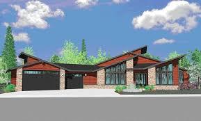 contemporary prairie style house plans northwest modern home architecture design home design ideas