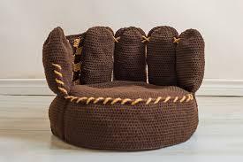 ravelry baseball mitt beanbag pattern by boomer beanies