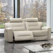 Contemporary Reclining Sofa With Topstitch by Pulaski Leather Reclining Sofa Wayfair