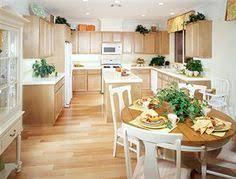 Wood Kitchen Cabinets With Wood Floors by What Paint Color Goes With Light Oak Cabinets Kitchen Paint