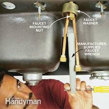 how to change kitchen sink faucet changing kitchen faucet amazing replace sink in replacing