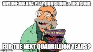 Futurama Meme Maker - image tagged in futurama dungeons and dragons dnd imgflip