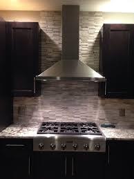 Best Natural Stone Backsplash Tile Images On Pinterest - Stone backsplash tiles