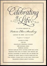 funeral service announcement wording 27 best memorial celebration of ideas images on