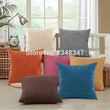 taie coussin canapé qualité solide couleur taie d oreiller en décoratif coussin