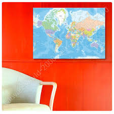 World Map Canvas Posters Wall Art Ikea World Map Canvas Ebay Diagram Free Posters