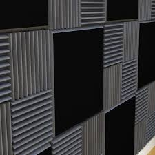 soundproofing acoustic tiles studio wedges