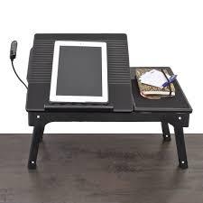 table ordinateur portable canapé support en bois pour ordinateur portable et tablette tablette