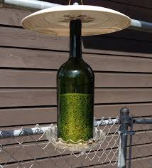 wine bottle plates 57 best bird feeders images on bird feeder dishes and