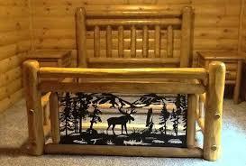 Cheap Log Bed Frames Log Bedroom Log Bed Frame Log Bedroom Dressers Biggreen Club