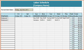 8 weekly staff schedule template budget template letter