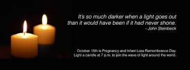 infant loss candles october 15th pregnancy and infant loss remembrance day ally manet