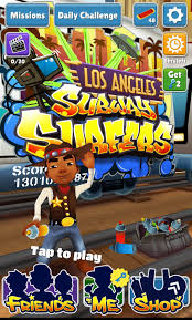 subway surfer apk subway surfers los angeles apk for android
