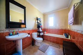 Mediterranean Style Bathrooms by Mediterranean Style Villa With A Large Plot